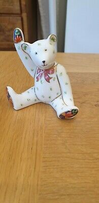 Royal Crown Derby - Victoria Bear Waving Paperweight - Figurine. 1st Quality VGC • 29.99£