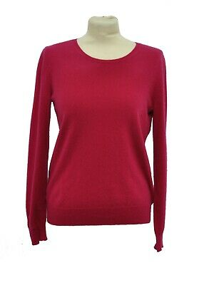 ** N.Peal ** Pure Cashmere Jumper ** Pink ** Small **  • 70£