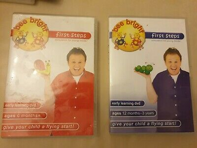 Justin Fletcher Bee Bright Kids Educational DVDs Stimulation For Young Minds • 4.80£
