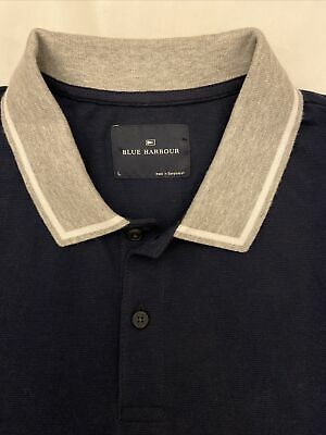 New Without Tags Marks And Spencer Blue Harbour Polo Shirt  Size L • 5£