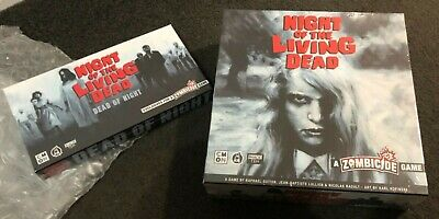 AU240 • Buy Zombicide: Night Of The Living Dead Board Game +Kickstarter Exclusive Items NEW