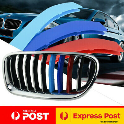 AU19.95 • Buy Tri Grille Cover Strips Clip Trim Front Kidney BMW M X3 G01 X4 G02 M40i 2018-20