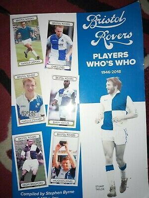 Bristol Rovers Players Who's Who 1946-2018 -  Special Offer • 1.99£
