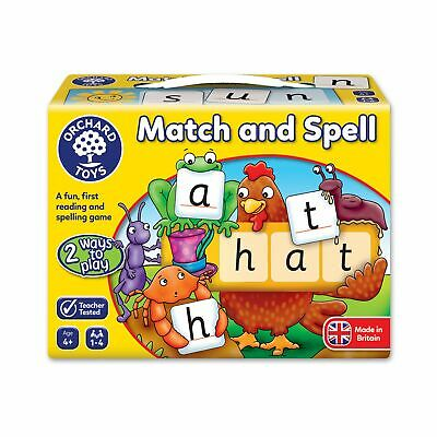 AU17.98 • Buy Orchard Toys Fun, Edu Match And Spell Game For Kids