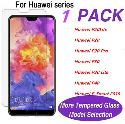 For Huawei P Smart 2019 P20 P30 P40 Pro Lite Tempered Glass Screen Protector • 1.99£