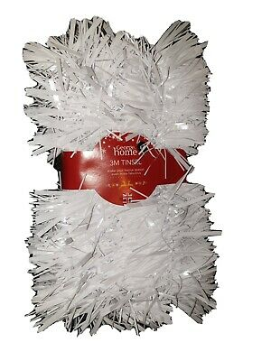 3M Foil Fringe Tinsel Shimmer Curtain Door Wedding Birthday Party DECORATIONS • 2.49£