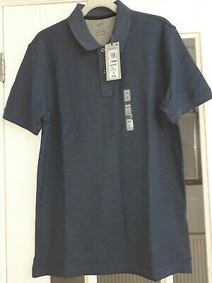 Marks And Spencer Mens Blue Cotton Polo Shirt Size Small • 2.99£