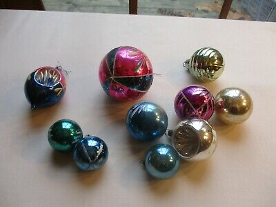 $ CDN14.47 • Buy Vintage Collection Of Christmas Ornaments~poland, Japan, Unmarked