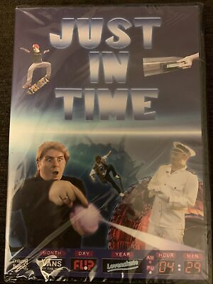$ CDN12.38 • Buy Just In Time By Andy Evans DVD NEW & SEALED Skateboarding Kris Vile Liam Teague