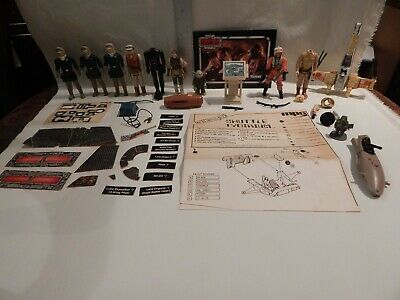 $ CDN17.63 • Buy Star Wars Vintage LOT Figures Weapons Accessories & Parts As Shown