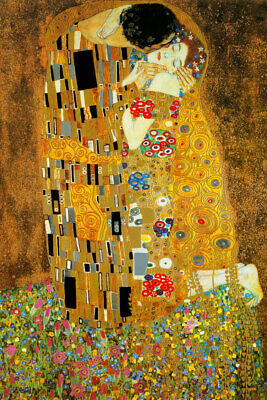 $ CDN20.04 • Buy Gustav Klimt Fine Art Poster Print The Kiss