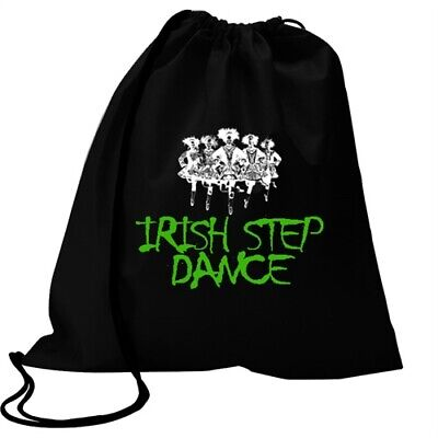 $14.99 • Buy Irish Step Dance Graffiti Style Sport Bag