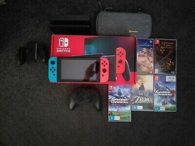 AU359 • Buy Nintendo Switch Console + Games + More