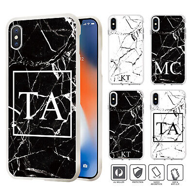 AU8.99 • Buy Personalised Marble Case Cover For IPhone 11 Pro XS MAX XR X 8 7 SE 6 6S Plus P1