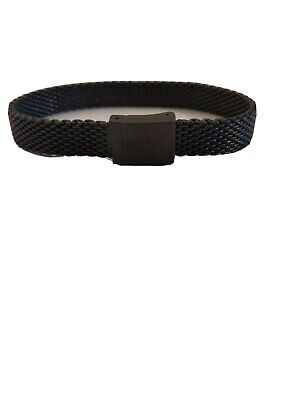 HUGO BOSS Men's Mesh Bracelet (Black) • 18.90£