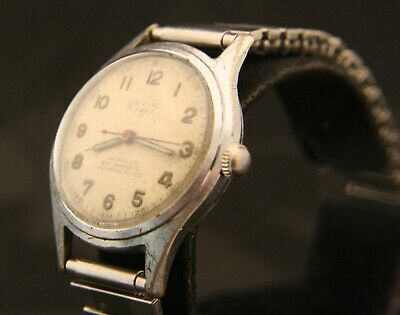 Vintage WWII Orvin, R Gsell & Co., Swiss 17J Military Wristwatch, Runs Great! • 70.51£