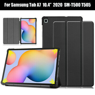 For Samsung Galaxy Tab A7 10.4  2020 T500 T505 Tablet Stand Leather Case Cover • 8.75£