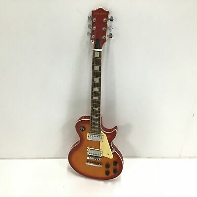 AU102.50 • Buy Robertson 6 String Red & Orange Electric Guitar Wooden Neck PICKUP ONLY #112