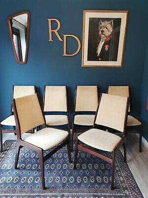 Mid Century Danish Dining Chairs By Erik Buch For Anderstrup - Set Of 6 • 395£