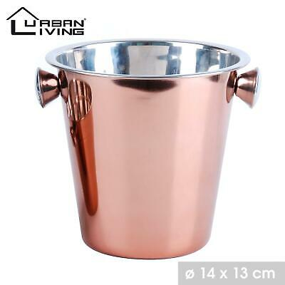 Ice Cooler Bucket Copper Champagne Party Bowl • 7.99£