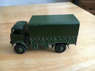 Dinky 623 Bedford Army Covered Wagon. With Driver. UnBoxed.  • 1£