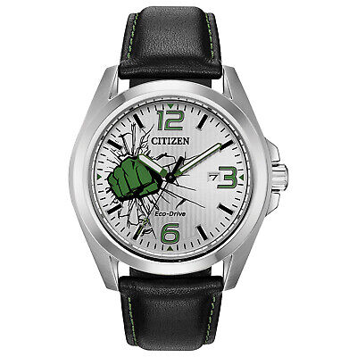 $76.99 • Buy Citizen Men's Eco-Drive Marvel Hulk Limited Edition 45mm Watch AW1431-24W
