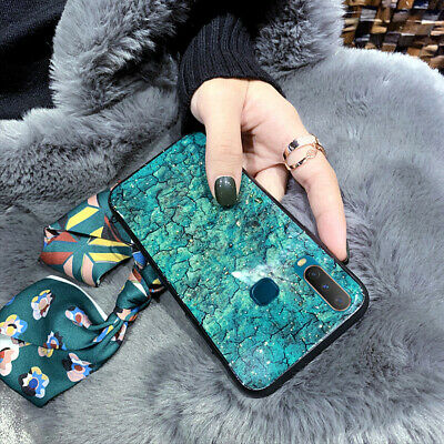 AU14.60 • Buy For OPPO AX7/A57/A9 2020/A91/A52/A72 Case Cover Luxury Bling Marble Soft