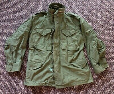 $49.99 • Buy Vintage 1980s US Army Military M65 Cold Weather Field Jacket Coat Small Short