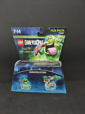 AU80 • Buy NEW LEGO Dimensions Slimer Ghostbusters FUN Pack 71241 Minifigure Slime Shooter