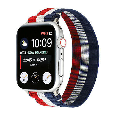$ CDN10.51 • Buy Scrunchie Soft Elastics Loop Band Strap For Apple Watch IWatch Series SE/6/5/4/3