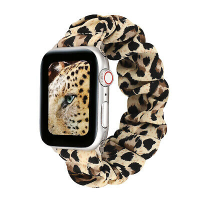 $ CDN10.51 • Buy Scrunchie Fashion Loop Band Strap For Apple Watch IWatch Series 5/4/3/2 40/44mm