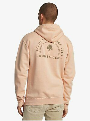 Quiksilver The Washed Hoodie Men's Surfing Vintage Wash Pullover NEW NWT Large • 46.64£