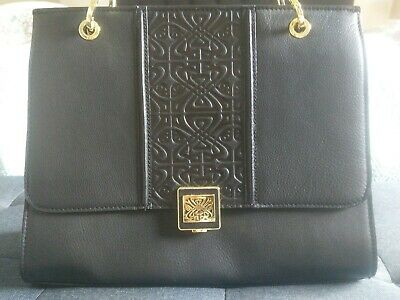 AU130 • Buy Leather Black Handbag In New Condition, Unwanted Gift From UK. Biba Brand