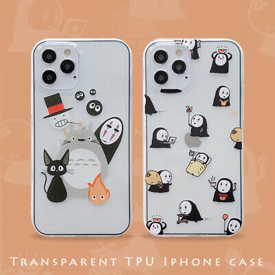 For IPhone 12 11 Pro Max XS XR 6S 7 8+ Cute Japan Cartoon Totoro Soft Phone Case • 3.92£