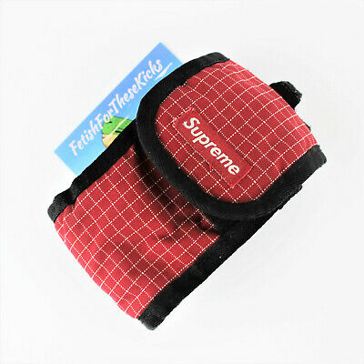 $ CDN49.53 • Buy Supreme Ripstop Camera Pouch Red O/S FW09 FetishFortheseKicks