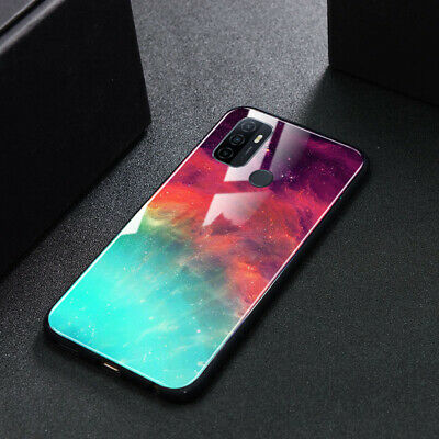 AU16.50 • Buy Luxury Color Sky Glass Cover For OPPO A52/A91/A9 2020/A73/AX5s/AX7/A59 Case