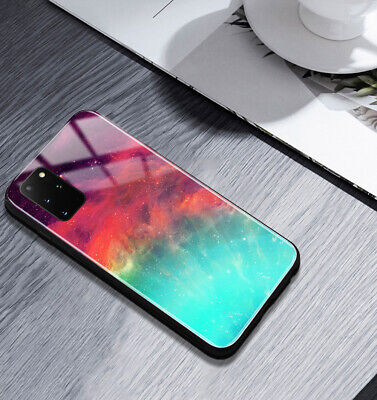 AU16.50 • Buy Luxury Color Sky Glass Cover For OPPO A54/A52/A91/A9 2020/A73/AX7/A59/A74 Case