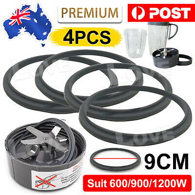 AU9.90 • Buy 4X For Nutribullet Grey Gasket Seal Ring Suits New 600W 1200W 900W Models