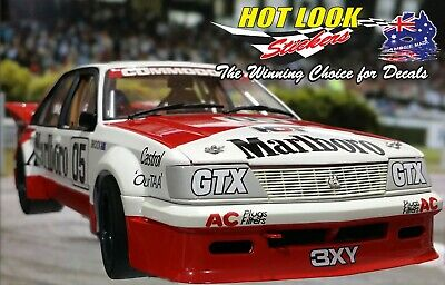 AU21.99 • Buy 1:18 Peter Brock 1984 2nd Place ATCC VH Commodore HDT MISSING Vinyl Decals Only!