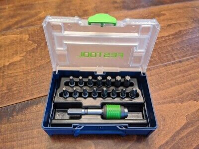 Festool Centrotec Bit Set SYS3-CE XXS In Micro Systainer 3 With BHS 60 CE • 58.87£