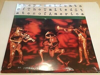 Presidents Of The United States Of America Vinyl/LP---SEALED--- PUSA 0025 • 43.01£