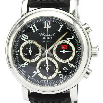 Polished CHOPARD Mille Miglia Chronograph Steel Automatic Watch 8331 BF519295 • 1,793.97£