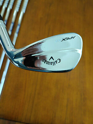 AU895 • Buy Callaway Apex MB 18 Irons 4 - PW With Project X 6.0 Stiff Shafts