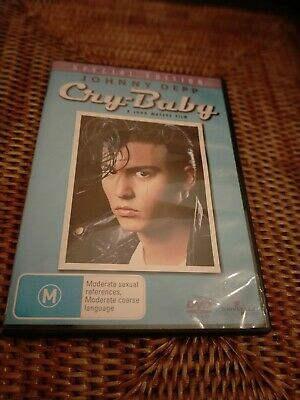 AU10 • Buy Cry Baby - Johnny Depp - Special Edition - Like New