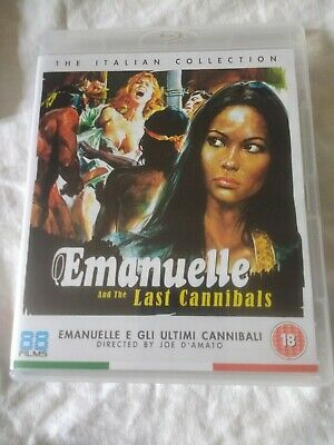 Emanuelle And The Last Cannibals   Blu-ray New But Not Sealed • 12.99£