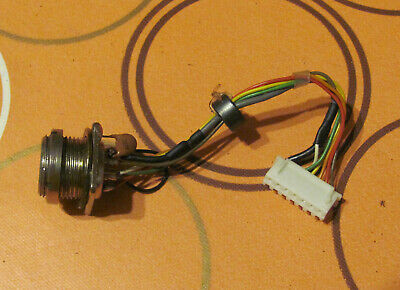 Yaesu FT-757 GX II Used Spares - Microphone Socket Assembly • 7£