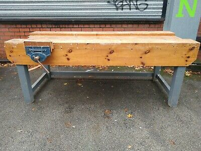£389 • Buy Work Bench With Vice FREE MANCHESTER DELIVERY