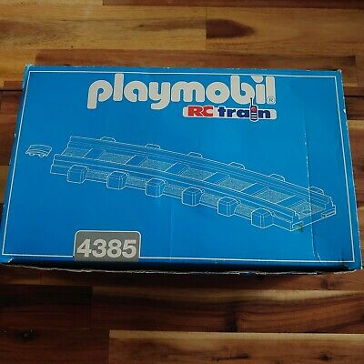 £15.99 • Buy Playmobil - 4385 - 12 X Curve Track Pieces - 12 X Joiners - For RC Train Gscale