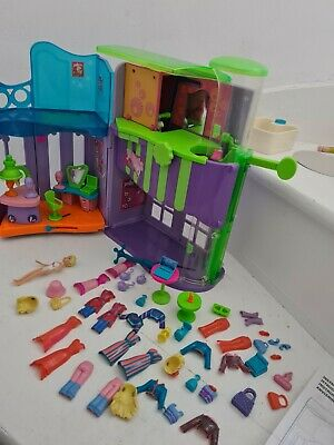 Polly Pocket 2005 Magnetic 'Quik Clik' House Style Play Set Dolls Clothes • 17.99£