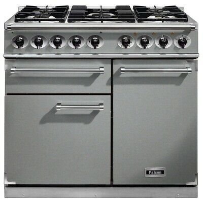 *IN STOCK* Rangemaster Falcon F1000DXDFSS/CM Dual Fuel Range Cooker STAINLESS ST • 2,899£